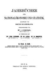 Jahrbücher für Nationalökonomie und Statistik: Band 85