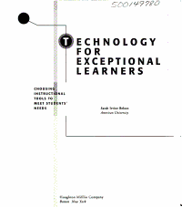 Technology For Exceptional Learners Book PDF