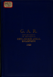 Journal of Proceedings of the ... Annual Encampment of the Department of Minnesota, Grand Army of the Republic: Volume 54