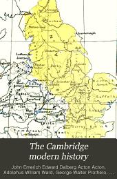 The Cambridge modern history: Volume 14
