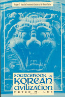 Sourcebook of Korean Civilization  From the seventeenth century to the modern period PDF