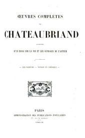 Oeuvres complètes de Chateaubriand: augmentées d'un essai sur la vie et les ouvrages de l'auteur, Volume6