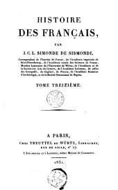 Histoire des Français: Volume13
