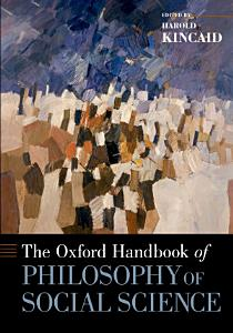 The Oxford Handbook of Philosophy of Social Science PDF
