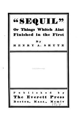 """""""Sequil"""", Or, Things which Aint Finished in the First"""