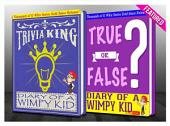 Diary of a Wimpy Kid - True or False? & Trivia King!: Fun Facts and Trivia Tidbits Quiz Game Books