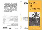 Géographie et cultures n°19