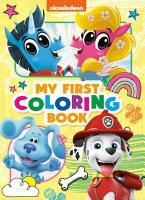 Nickelodeon  My First Coloring Book  Nickelodeon  PDF