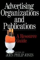 Advertising Organizations and Publications PDF