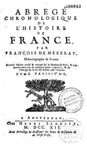 Abrégé chronologique de l'histoire de France,
