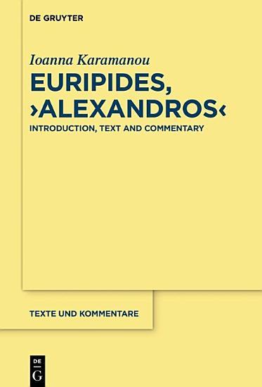 Euripides   Alexandros  PDF
