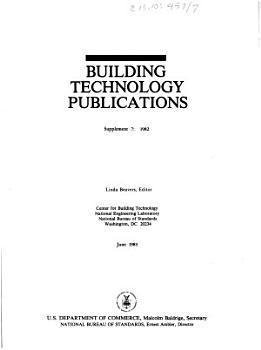 Building Technology Publications PDF
