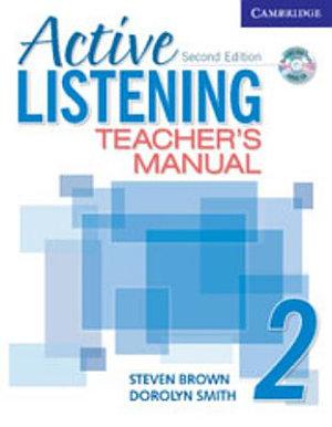 Active Listening 2 Teacher s Manual with Audio CD