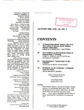 Pennsylvania Folklife PDF