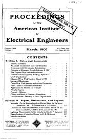 Electrical Engineering: Volume 26