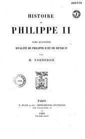 Histoire de Philippe II: Volume2