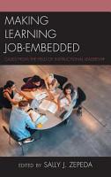 Making Learning Job Embedded PDF
