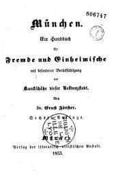 Munchen: ein Handbuch für Fremde und Einheimische