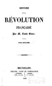 Histoire de la révolution française: Volume2