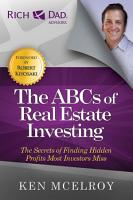 The ABCs of Real Estate Investing PDF