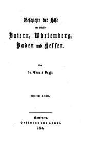 Geschichte der deutschen höfe seit der reformation: Band 26
