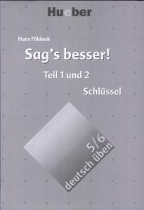 Sag s besser   Schl  ssel PDF
