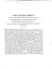 Iudicia quinque ordinum Universitatis Fridericiae Guilelmiae Rhenanae de litterarum certaminibus anni ... facta novaeque quaestiones anno ... propositae: 1835