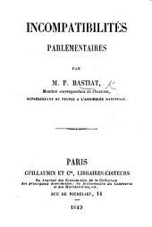 Incompatibilités parlementaires