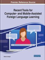 Recent Tools for Computer  and Mobile Assisted Foreign Language Learning PDF
