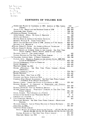 Bulletin of the New York Public Library PDF