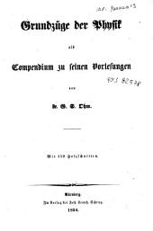 Grundzuge der Physik als Compendium zu seinen Vorlesungen: 2, Band 2
