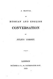 A Manual of Russian and English Conversation