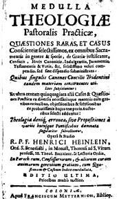 Medulla Theologiae pastoralis practicae
