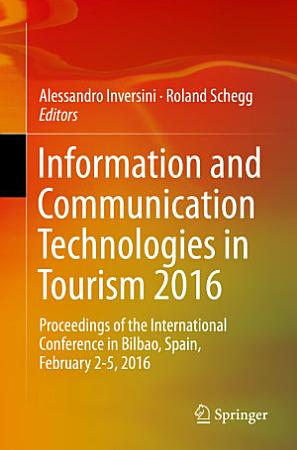 Information and Communication Technologies in Tourism 2016 PDF