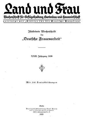 Land und Frau PDF
