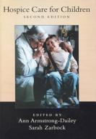 Hospice Care for Children PDF