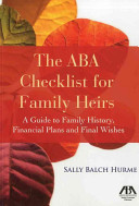 The ABA Checklist for Family Heirs