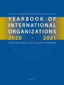 Yearbook of International Organizations 2020 2021  6 Vols   PDF