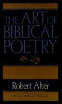 Art Of Biblical Poetry PDF