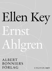 Ernst Ahlgren: Några biografiska meddelanden