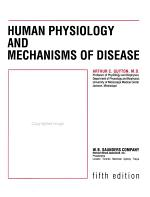 Human Physiology and Mechanisms of Disease PDF
