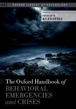 The Oxford Handbook of Behavioral Emergencies and Crises PDF