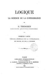 Logique: La cience de la connaissance