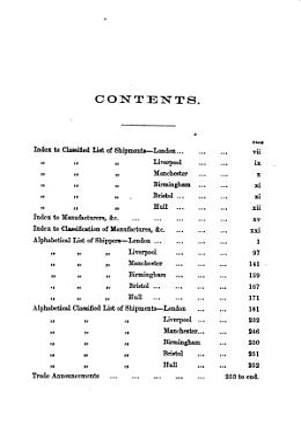 The Merchant shippers of London  London  Liverpool    c    PDF