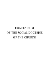 Compendium Of The Social Doctrine Of The Church Book PDF
