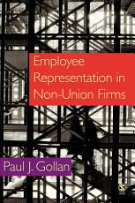 Employee Representation in Non union Firms PDF