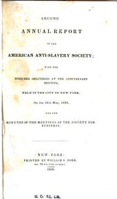 Annual Report of the American Anti-Slavery Society: Volumes 2-4