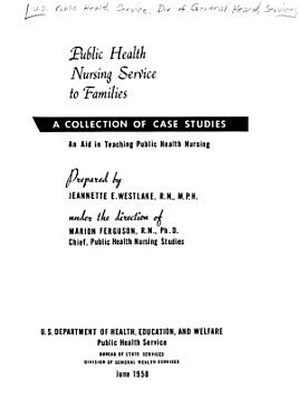 Public Health Nursing Service to Families PDF