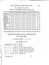 Nouveaux mémoires de l'Académie royale des sciences et belles-lettres: avec l'histoire pour la même année, Volume5