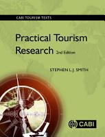 Practical Tourism Research  2nd Edition PDF